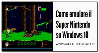 Come emulare il Super Nintendo su Windows 10