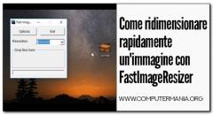Come ridimensionare rapidamente un'immagine con FastImageResizer