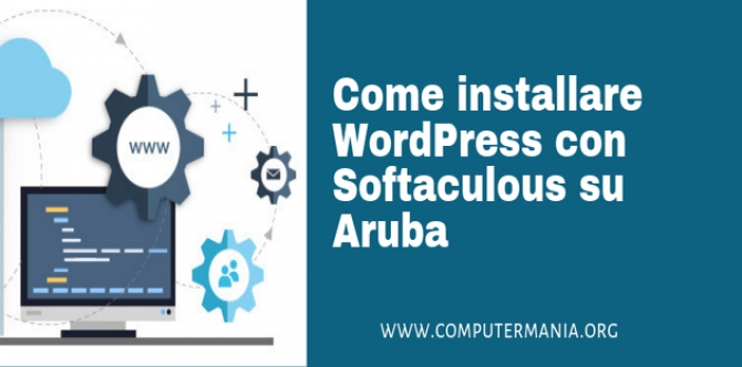 Come installare WordPress con Softaculous su Aruba