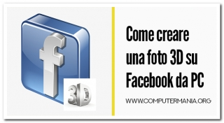 Come creare una foto 3D su Facebook da PC