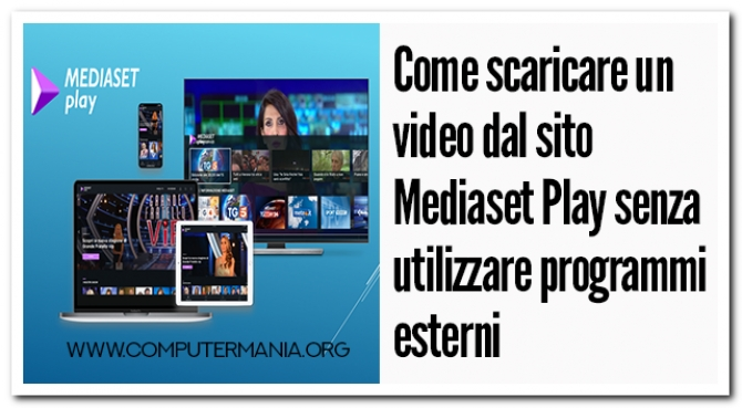 SCARICA VIDEO MEDIASET PREMIUM PLAY