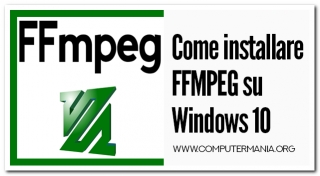 Come installare FFMPEG su Windows 10