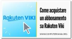 Come acquistare un abbonamento su Rakuten Viki