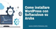 Come installare WordPress con Softaculous su Aruba