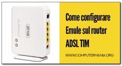 Come configurare Emule sul router ADSL TIM