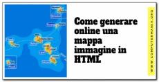 Come generare online una mappa immagine in HTML