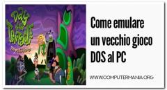 Come emulare un vecchio gioco DOS al PC