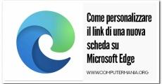 Come personalizzare il link di una nuova scheda su Microsoft Edge
