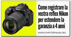 Come registrare la vostra reflex Nikon per estendere la garanzia a 4 anni