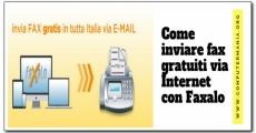 Come inviare fax gratuiti via Internet con Faxalo
