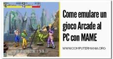 Come emulare un gioco Arcade al PC con MAME
