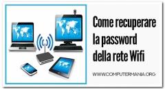 Come recuperare la password della rete Wifi