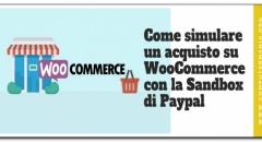 Come simulare un acquisto su WooCommerce con la Sandbox di Paypal