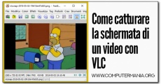 Come catturare la schermata di un video con VLC