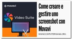 Come creare e gestire uno screenshot con Movavi