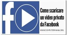 Come scaricare un video privato da Facebook