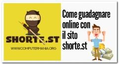 Come guadagnare online con il sito shorte.st