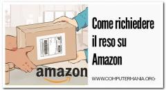 Come richiedere il reso su Amazon