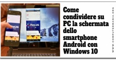 Come condividere su PC la schermata dello smartphone Android con Windows 10